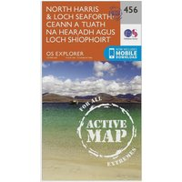 Ordnance Survey Explorer Active 284 North Harris & Loch Seaforth Map With Digital Version, Orange