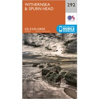 Ordnance Survey Explorer 292 Withernsea & Spurn Head Map With Digital Version, N/A