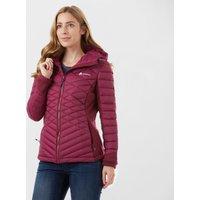 Technicals Womens Breeze Hybrid Down Jacket, Purple