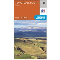 Ordnance Survey Explorer 331 Teviotdale South Map With Digital Version, N/A