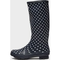 Peter Storm Womens Trim Wellies Medium, Navy