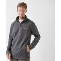 Brasher Men's Fairfield Quarter-Zip Fleece, Grey/DGY