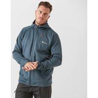 Technicals Mens Rapid Hooded Fleece Jacket - Blue, Blue