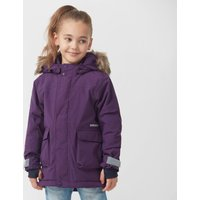 Didriksons Kids' Kure Waterproof Parka, Purple