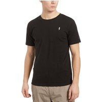 Stone Monkey Mens Short Sleeve Arne Tee, Black