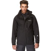 Technicals Mens 3 in 1 Jacket, Black