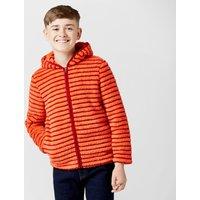 Peter Storm Kids Teddy Full Zip Hooded Fleece - Orange, Orange