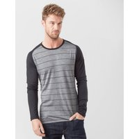 Icebreaker Men's Oasis Long Sleeve Crew, Black