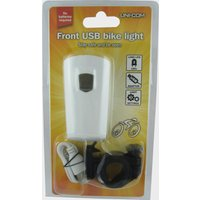 Unicom Front USB Bike Light, White