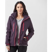 Protest Women's Giggile 18 Ski Jacket, Purple