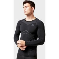 Odlo Men's SUW Performance Light Crew, Black