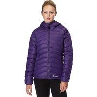 Technicals Womens Narrow Baffle Down Jacket, Purple