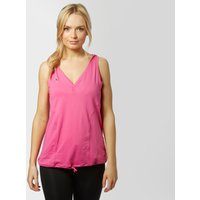 Zoca Women's Loose Fit Running Vest, Pink