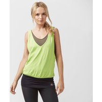 Zoca Womens Layer Running Vest, Green