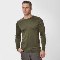 Peter Storm Mens Long Sleeve Thermal Crew Baselayer  Khaki