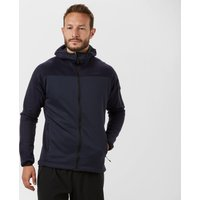 Adidas Men's Terrex Stackhorn Hooded Fleece Jacket, Navy