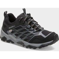 Merrell Kids' Moab FST Low Waterproof Sneaker, Black