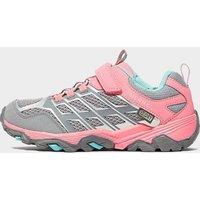 Merrell Kids' Moab FST Low A/C Waterproof Sneaker, Pink