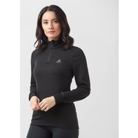 Odlo Women's Active Original Warm Half-Zip, Black