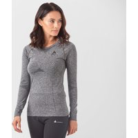 Odlo Women's SUW Performance Light Long Sleeve Baselayer, Grey