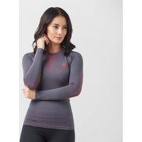 Odlo Women's Warm Long Sleeve Crew, Grey