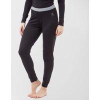 Odlo Women's Merino Warm Pants, Black