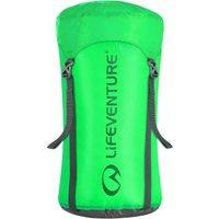 Lifeventure 15L Compression Stuff Sack, Green/15L