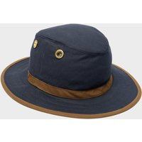Tilley Men's TWC7 Outback Waxed Cotton Hat, NVY/NVY