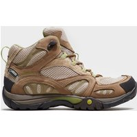 Merrell Womens Azura Mid Waterproof Hiking Shoe, Brown