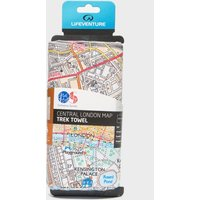 Lifeventure SoftFibre Ordnance Survey Travel Towel, Multi/LONDON