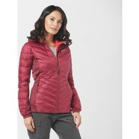 Berghaus Womens Finsler Stretch Hooded Down Jacket - Red, Re