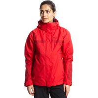 Jack Wolfskin Womens Feel 3 in 1 Texapore Jacket, Red