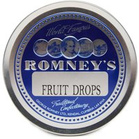 Romneys Travel Tin Fruit Drops, Blue