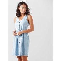 Roxy Women's Central Park Dress, Blue