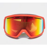 SMITH Men's Range Ski Goggles, RED/RED