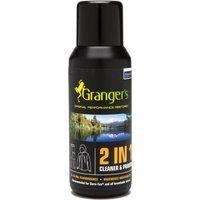 Grangers 2 In 1 Cleaner And Waterproofer - Black, Black