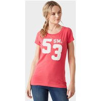 Stone Monkey Women's '53' T-Shirt, Pink