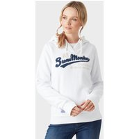 Stone Monkey Women's Fleece Hoodie, White