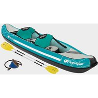 Sevylor Madison Inflatable Kayak Kit, Turquoise