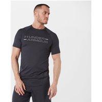 Under Armour Men's MK-1 Wordmark Short Sleeve T-Shirt, Black