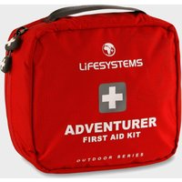 Lifesystems Adventurer First Aid Kit - Red, Red