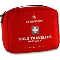 Lifesystems Solo Traveller First Aid Kit - Red, Red
