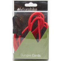 Eurohike Bungee Cord Kit - Red, Red