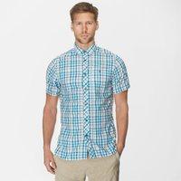 Craghoppers Mens Otley Short Sleeve Shirt, Blue