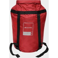 Eurohike 20 Litre Waterproof Compression Sack - Red, Red