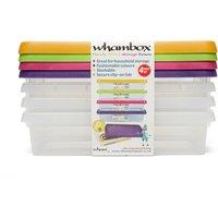Wham Whambox Handy 800ml Storage Boxes, Assorted