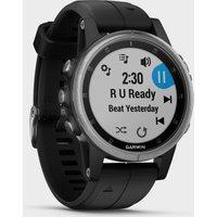 Garmin fenix 5S Plus Multi-Sport GPS Watch - Silver, Silver