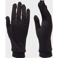 Trekmates Unisex Silk Gloves, Black
