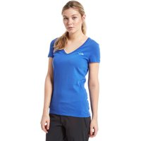 The North Face Womens Simple Dome T-Shirt, Blue
