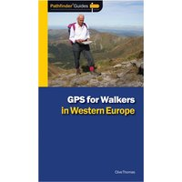 Pathfinder GPS for Walkers in Western Europe Guide, Blue/ASSOR